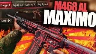 ZULA gameplay español - Jugando con la M468 +5 AL MAXIMO