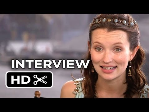 Pompeii Interview - Emily Browning (2014) - Historical Adventure Movie HD