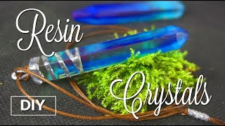 DIY Resin Crystals