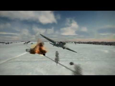 IL2: Battle of Stalingrad Crashes, Kills and Explosions part 4