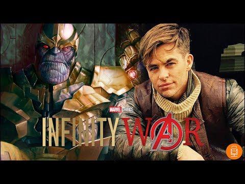 Chris Pine Insults Avengers Infinity War & Comic Book Films