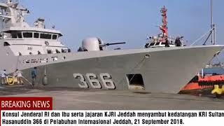 Gambar cover Konjen RI Jeddah sambut KRI Sultan Hasanuddin 366