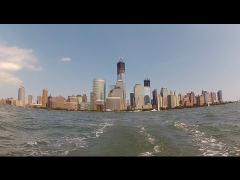 Sailing on the New York City Harbor July 22 2012
