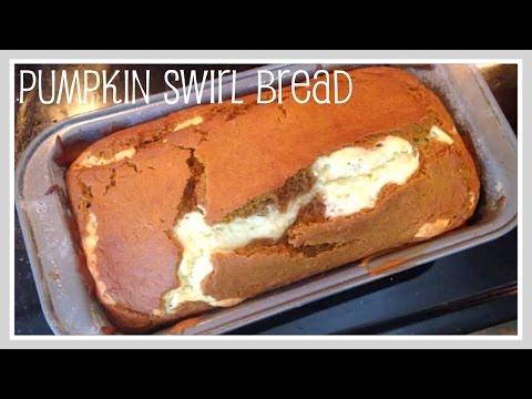 Recipe- Pumpkin Swirl Bread