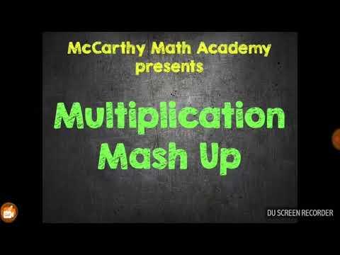 Multiplication mashup!!!!