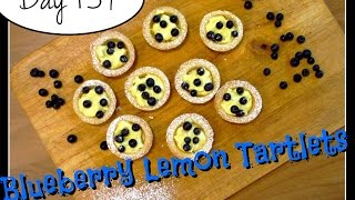 Blueberry Lemon Tartlets Recipe [day 159]