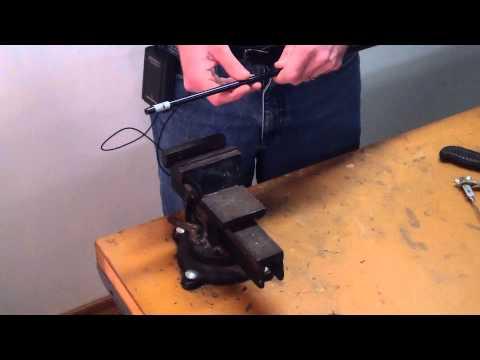 How To Assemble A Custom Golf Club Part 4 - How To Tip Trim A Golf Shaft