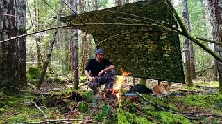 Bushcraft Day Camp | Mora Classic 1, Mil Tec 36L, Axecraft