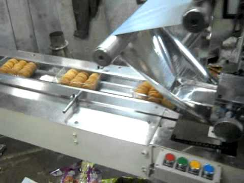 Automatic Horizontal Flow wrap Machine ( Bakery Biscuits In Tray Packing ) +919910803150