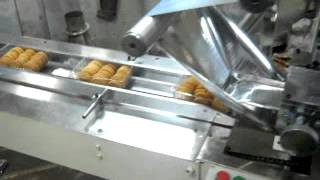 Automatic Horizontal Flow wrap Machine ( Bakery Biscuits In Tray Packing ) +919910533877