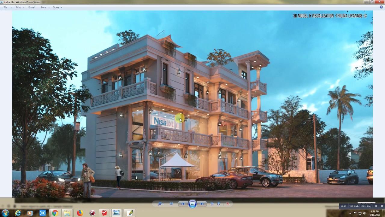 Free 3D Models - HOUSES - VILLAS - Commercial-Residential
