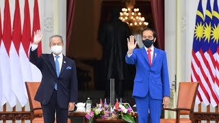 Download lagu Upacara Penyambutan Resmi Perdana Menteri Malaysia, Istana Merdeka, 5 Februari 2021
