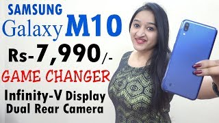 Samsung Galaxy M10 - NEW BUDGET KING (Unboxing & Overview in HINDI)