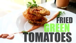 Fried Green Tomatoes| @foodn3rd