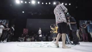 Finał Popping na Free Spirit Championship 2016: Greenteck vs Gucchon