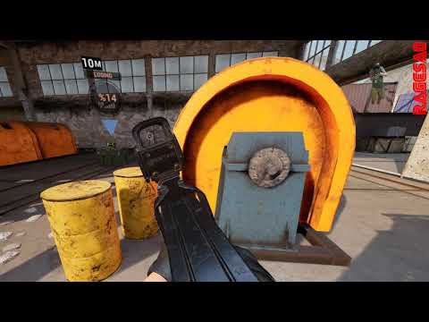 Contractors VR beta - RAMPAGE with a P90! |