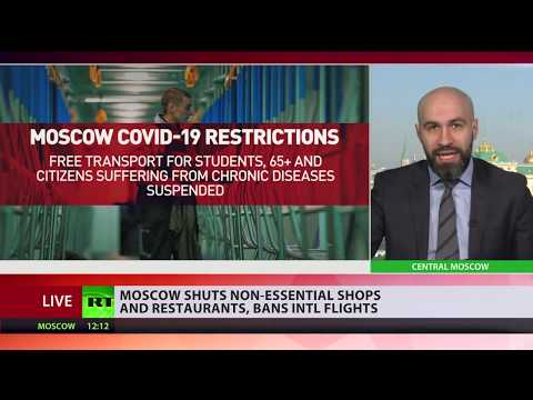 COVID-19 in Russia | Moscow shuts down all non-essential shops & restaurants