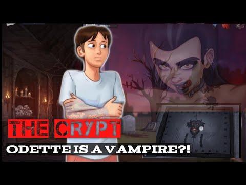 The Crypt, Odette Quest Summertime Saga, Odette is a vampire, New Cookie Jar Scene #summertimesaga