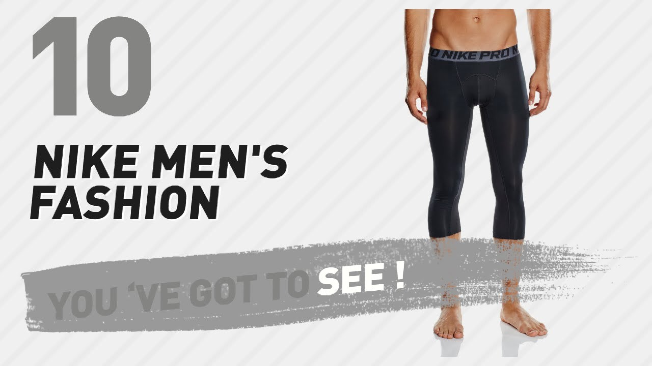 71f0e0438870e Nike 3/4 Compression Pants For Men // New And Popular 2017 - YouTube