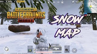 SNOW MAP New Update PUBG Mobile Live | VIKENDI Map Update 0.10 OUT ! Snow Map Gameplay