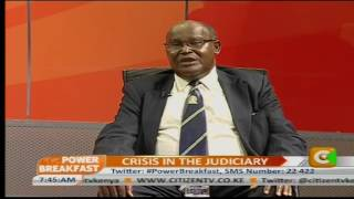Power Breakfast: Crisis In The Judiciary