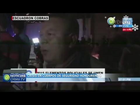 #ENVIVO Crisis en Honduras. Cortesía UNE TV
