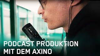Alexander Schröder – Podcast Produktion mit dem Axino Synergy Core