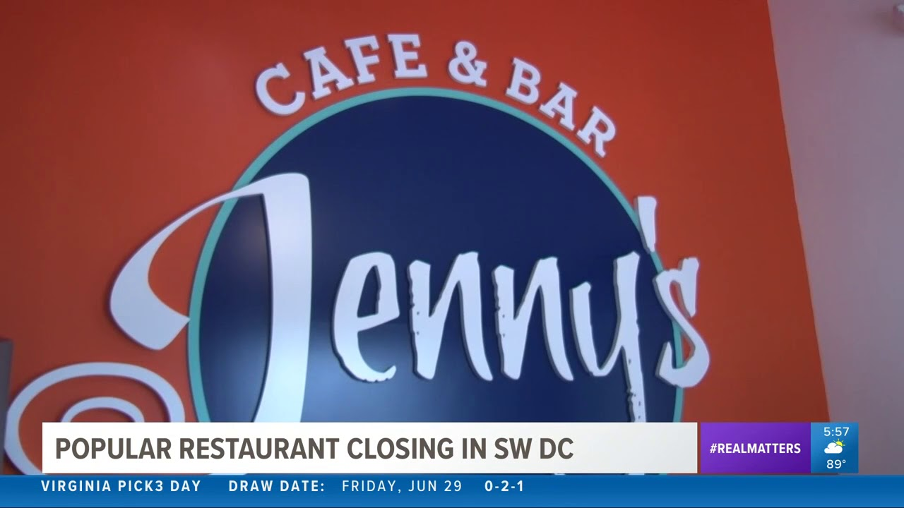 Farewell to a DC institution: Jenny's at the Wharf closes its doors