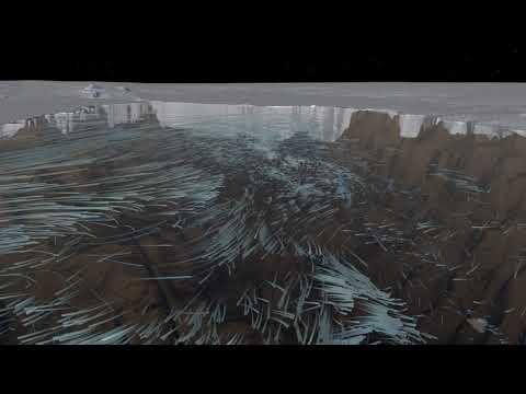 Ocean Flows Under Pine Island Glacier, Antarctica