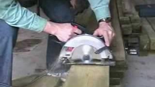 Preparing Deck Framing - Blocking Between Joists