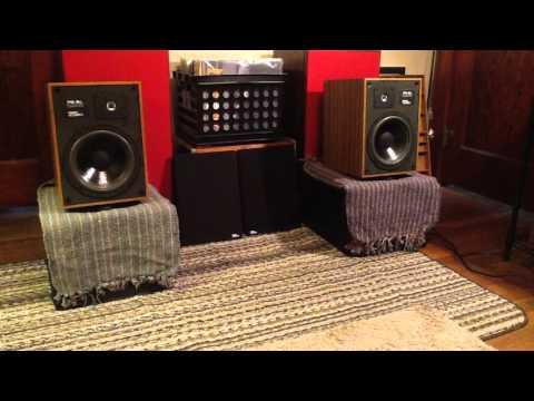 Sansui Au 9900 Integrated Amplifier Jbl L100 Speakers