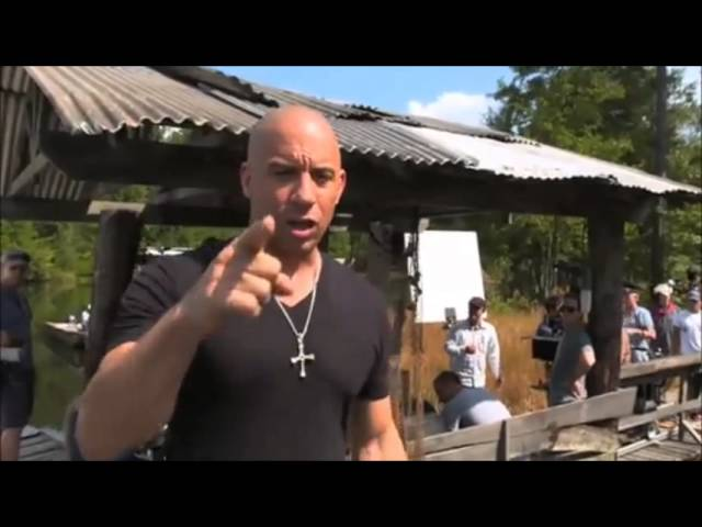 DETRAS DE CAMARA RAPIDO y FURIOSO 7 VIN DIESEL Y MICHELLE RODRIGUES Travel Video