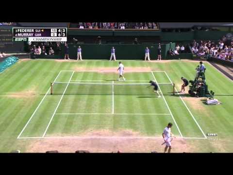 Wimbledon Final Federer Murray Highlights HD