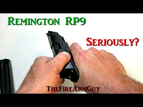 $299 for a Remington RP9 and Now This - TheFireArmGuy