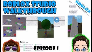 Roblox Studio - Tutorials Walkthrough - 1,2,3