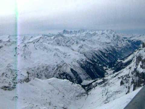 Top du Mont Titlis, 10 000 pieds, Engelberg, Suisse