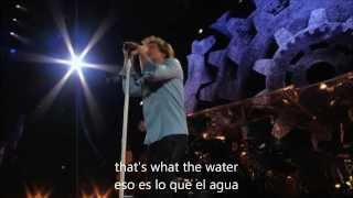 BON JOVI - That's what the water made me (Subt. Ingles-Español)
