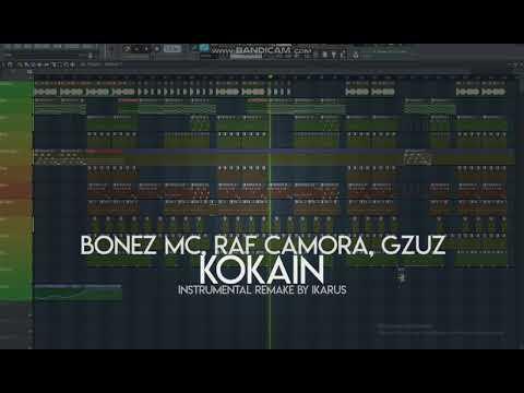 BONEZ MC & RAF CAMORA feat. GZUZ - KOKAIN | INSTRUMENTAL REMAKE | IKARUS