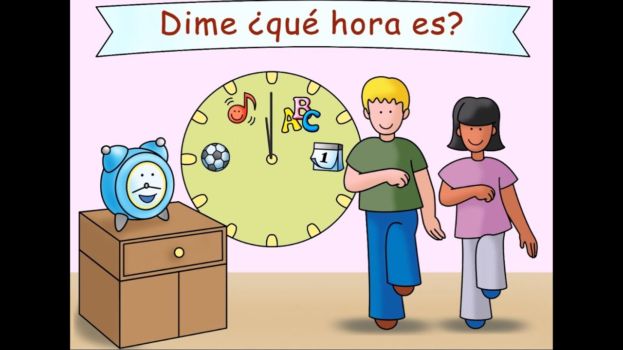 Mr Clock Señor Reloj Calico Spanish Transition Song For Kids Youtube