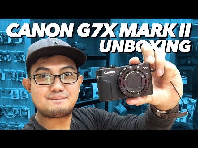 KAMERA CANON G7X MARK II UNBOXING INDONESIA 'KAMERA TERBAIK UNTUK VLOG' #ANDERISVLOG