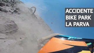 Accidente de Mountain Bike en el Bike Park La Parva, cronica de un porrazo!