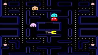 PAC MAN ARCADE cherry, mid fruit apple pattern puck man pac-man NAMCO MIDWAY 1980 RETRO GAME