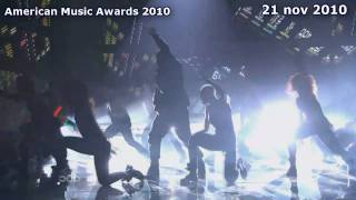 Swedish House Mafia & Usher Live Vs Alexandra Damiani Mash Up At American Music Awards 2010