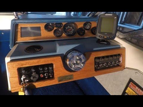 Custom Boat Dashboard #2 - Built in GPS!