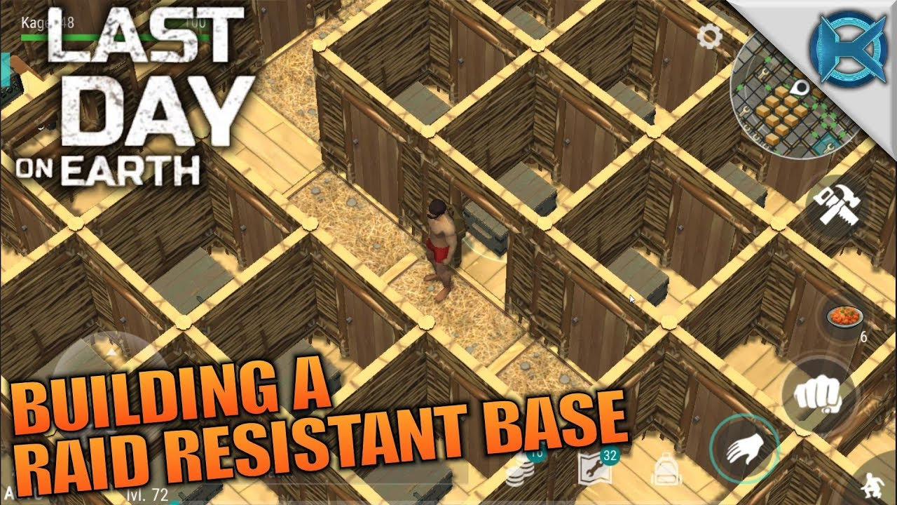 Last day on earth survival base design building a raid for Best house design last day on earth