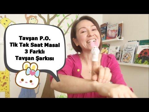 Tavşan Parmak Oyunu - Tik Tak Saat Masal - Tavşanlı Türkçe Çocuk Şarkıları
