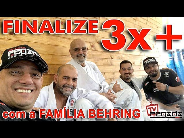 Finalize 3x mais com a família Behring