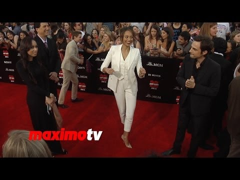 Amber Stevens & Andrew J. West  22 Jump Street  Movie  World Premiere  @AmberoniStevens