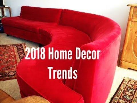 2018 Home Decor Trends YouTube