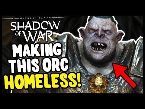 PLANNING AN EPIC SIEGE TO CONQUER ORC FORT | Middle Earth: Shadow of War - Gameplay Funny Moments